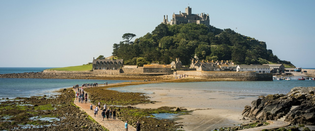 St Michaels Mount Causeway Opening Times