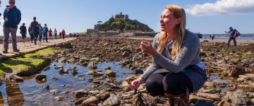 Foraging event on St Michael's Mount with Emma Gunn